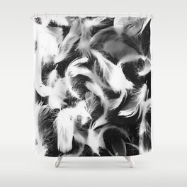 Fallen Feathers #2 Shower Curtain