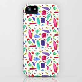 Asymmetric Jems iPhone Case