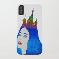 russia iPhone & iPod Cases featuring Russia by Luna Portnoi