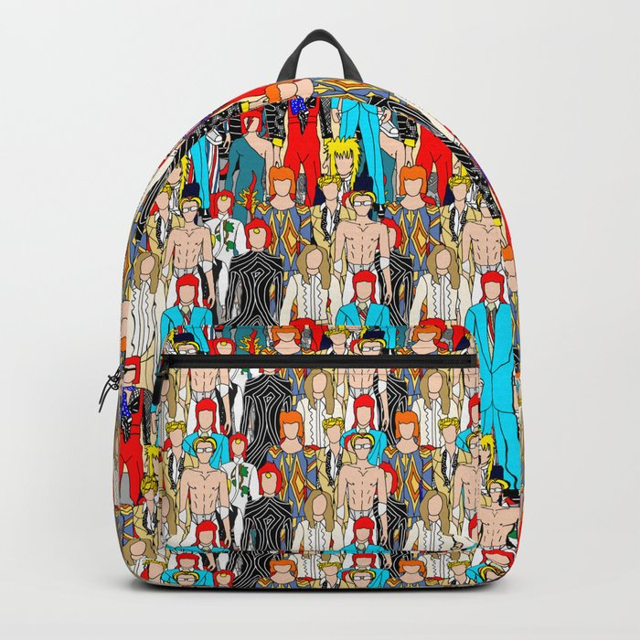 Gray Heroes Group Fashion Outfits Backpack
