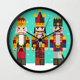 The Nutcrackers Wall Clock