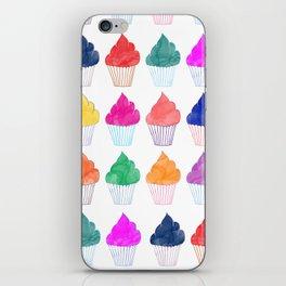 Cupcake Pattern iPhone Skin