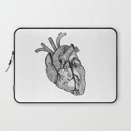 Croquis de cœur Laptop Sleeve