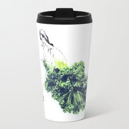 Edible Ensembles: Kale Travel Mug