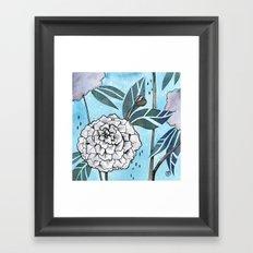 Flowers for you #1 Framed Art Print