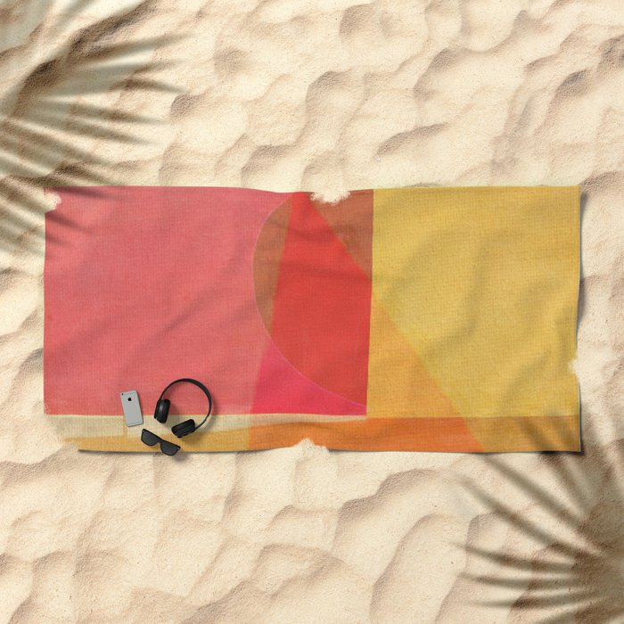 Sailing on a Hot Afternoon Beach Towel