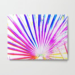 Pop Art Palm Metal Print