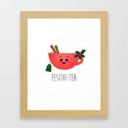 Festivi-tea Framed Art Print
