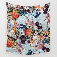 Summer Botanical Garden VIII Wall Tapestry