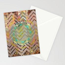 NL 3 Rustic Southwest Chevron Stationery Cards