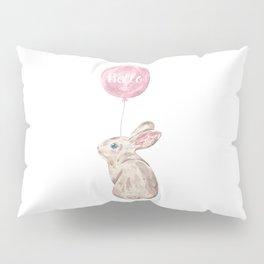 Rabbit Greetings Pillow Sham