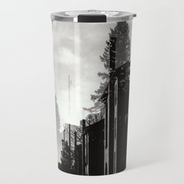 Ghostly Lines Travel Mug