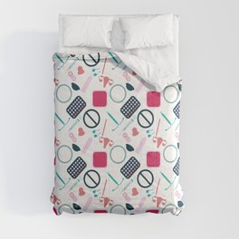 Contraception Pattern Comforters