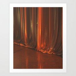 Curtain, 2016 Art Print