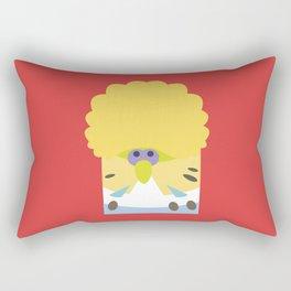 English Budgerigar Rectangular Pillow