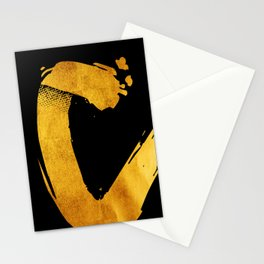 GOLD letter C Stationery Cards