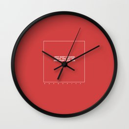 kenny (red) Wall Clock