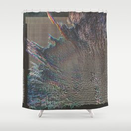 FRIĒ Shower Curtain