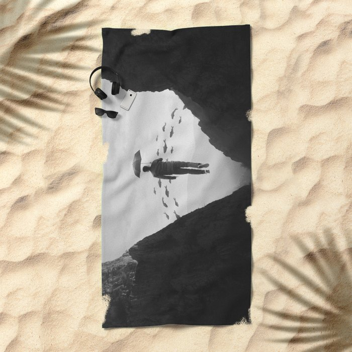 Journey to the Unknown Beach Towel