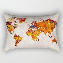 World Map 58 Rectangular Pillow