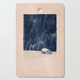 CLASSIC BLUE / Hut on the Hill Cutting Board