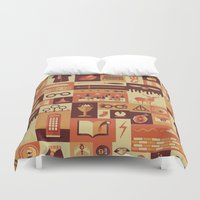 pixar Duvet Covers featuring Accio Items by Risa Rodil