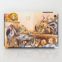 vegetarian iPad Cases featuring vegetarian face by Rose Rigden