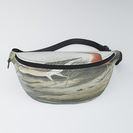 Pigmy curlew from Birds of America (1827) by John James Audubon etched by William Home Lizars Fanny Pack