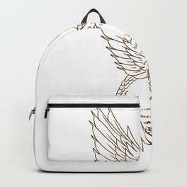 Osprey Swooping Drawing Backpack