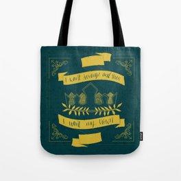 I Want My Crown (Three Dark Crowns Tote Bag