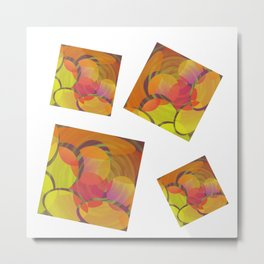 SquaLiptical Metal Print