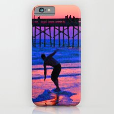 Neon Skimboarder iPhone 6s Slim Case