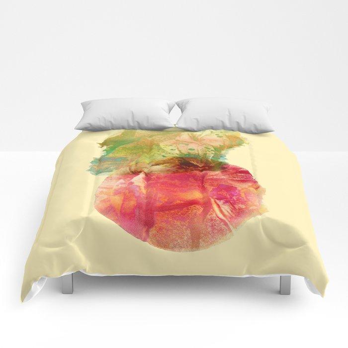 floral composition Comforters