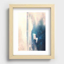 Breathe Recessed Framed Print