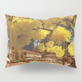 Hot town, summer in the city Pillow Sham