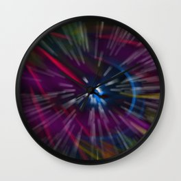 coloribus oasis Wall Clock