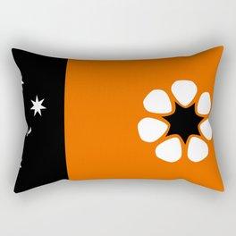 Northern Territories Flag Rectangular Pillow