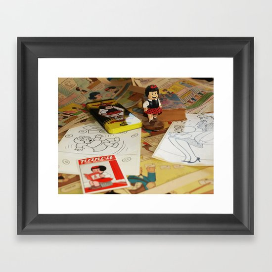 Still Life With Nancy  Framed Art Print