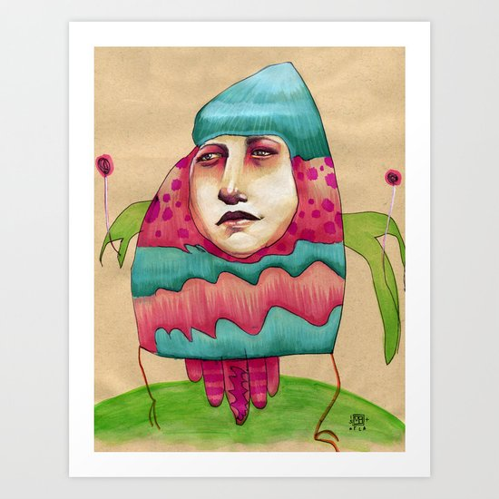 Lolly Art Print