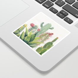 Cactus Watercolor Sticker
