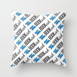 Bookish All Over Throw Pillow