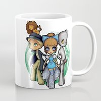 oz Mugs featuring Oz  by Mickey Spectrum