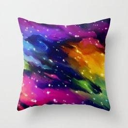 SPACE! Throw Pillow