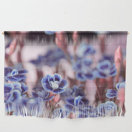 She Blue Wall Hanging