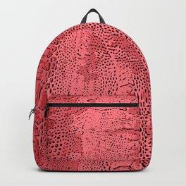 Big Bird in Red Backpack