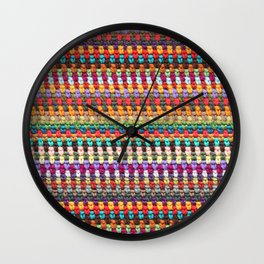Crochet Afghan Pattern Wall Clock