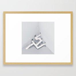 Shrine 2 Framed Art Print