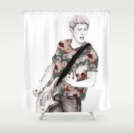 Floral Niall Shower Curtain