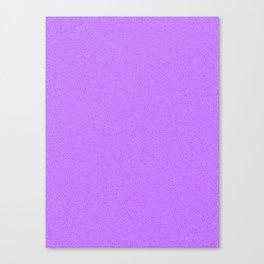 Dense Melange - White and Violet Canvas Print