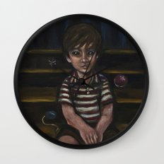 Halfway down the stairs Wall Clock